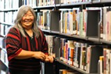 STEPHEN LOEWINSOHN - Jane Chisaki, director of the Alameda Free Public Library.