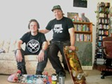 CASSIE HARWOOD - Jared Power and John the Baker plan to skate from Richmond to San Jose.