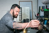 BERT JOHNSON - Jason Sole opened Waveformless, a synthesizer retail and repair shop, earlier this month.