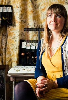 Jeannine Komush says Etsy allowed her to start her jewelry business.