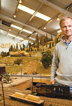 Jeff Rowe is an O Scale Trainmaster at the Golden State Model Railroad Museum.