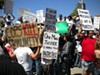 Johannes Mehserle supporters rally in Walnut Creek