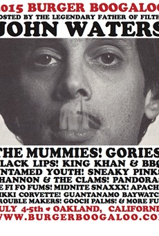 John Waters to Host, The Mummies to Headline Burger Boogaloo