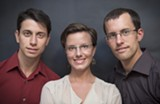 MIA NAKANO - Josh Fattal, Sarah Shourd, and Shane Bauer.