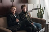 Justin Timberlake and Jesse Eisenberg star in The Social Network.
