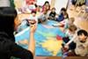 Kai-Yao To teaches her students at Berkeley's Shu Ren International School.
