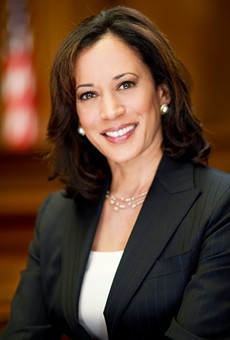AG Harris called cannabis legalization 'inevitable', but said California must keep 'vulnerable people safe' from it.