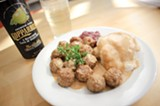 CHRIS DUFFEY - Köttbullar and Kopparberg.