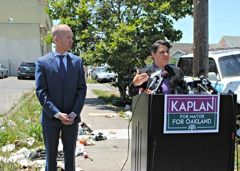 Kaplan Officially Announced Candidacy for Oakland Mayor — And Asks for Second-Place Votes