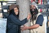 Kemba Shakur (left) and Kevin Jefferson of Urban Releaf.