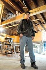 RIN KELLY - Ken Gutleben worries about Alameda in the next big earthquake.
