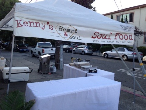 Kennys Heart and Soul: First Friday setup.