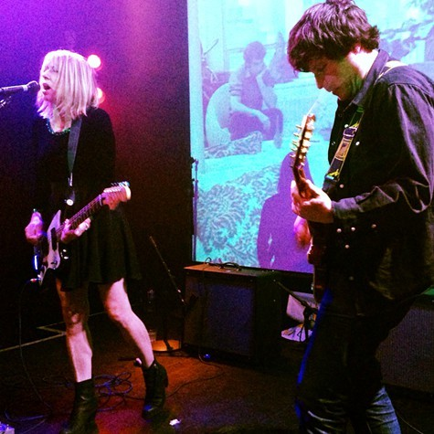 Kim Gordon and Bill Nace opened Noise Pop with improvisational noise rock.