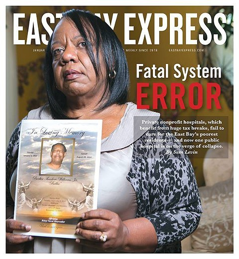 1/17/15 Express cover. - PHOTO BY BERT JOHNSON