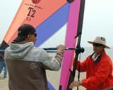 Learn to windsurf in Alameda.