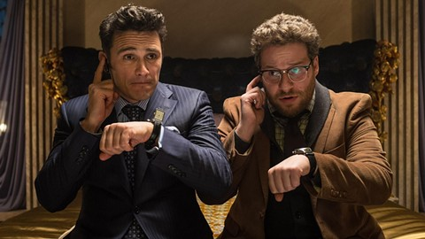 Right on time, James Franco and Seth Rogen.