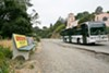 Line 18 will take you within a short walk of Joaquin Miller Park.