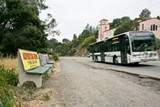 BERT JOHNSON - Line 18 will take you within a short walk of Joaquin Miller Park.