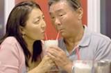 CHESHIRE ISAACS - Lisa Kang and Dennis Yen as Grace and Ed Wong.