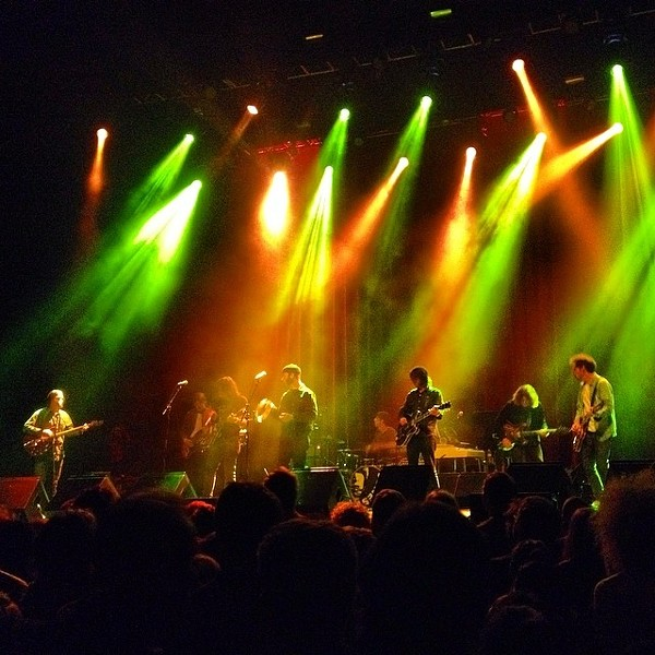 Brian Jonestown Massacre at the Fox Theater. - ISRAEL VEINTIDOS