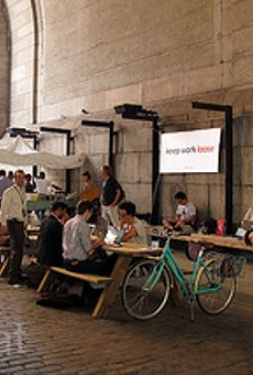 Loosecubes co-working space in Brooklyn