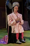 Lord Farquaad (played by Clay David) is the play's 