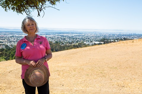 Laura Baker of the California Native Plant Society, one of the groups opposing the project. - BERT JOHNSON / FILE PHOTO