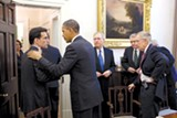 Many progressives are suspicious that Eric Cantor (left) and other Republicans voted for the JOBS Act.