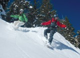 COURTESY OF SKI LAKE TAHOE - Many resorts are using man-made snow.