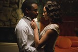 Martin Luther King, Jr. (David Oyelowo) and Coretta Scott King (Carmen Ojogo) share a moment in Selma.