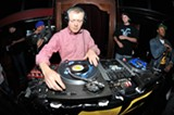 """ERIC ARNOLD - Matthew Africa spinning at Disco Volante's """"45 Sessions."""""""