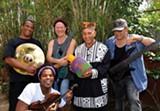 B. LEYVA - Mezcla blends American and Afro-Cuban music.