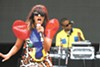 "M.I.A. performed a raucous Beastie Boys cover, but ""Paper Planes"" was underwhelming."