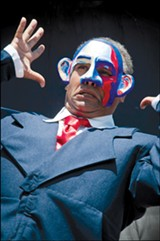 FLETCHER OAKES - Michael Gene Suållivan as President Obama.