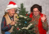 Michael Patrick Gaffney and Colin Thomson in A Tuna Christmas.