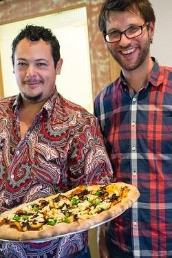 Owners Nick Yapor-Cox (left) and Aron Ford. - NICKANDARONS.COM