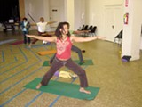 NIROGA PHOTO ARCHIVE - Minority students in a Niroga yoga class train to be Integral Health Fellows.