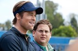 Moneyball more closely resembles The Social Network than baseball epics like Field of Dreams.