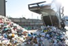 Most plastics that arrive at Berkeley's MRF end up in the landfill.
