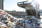 STEPHEN LOEWINSOHN - Most plastics that arrive at Berkeley's MRF end up in the landfill.