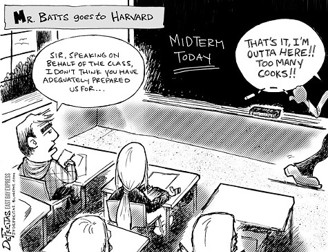 Mr. Batts Goes to Harvard
