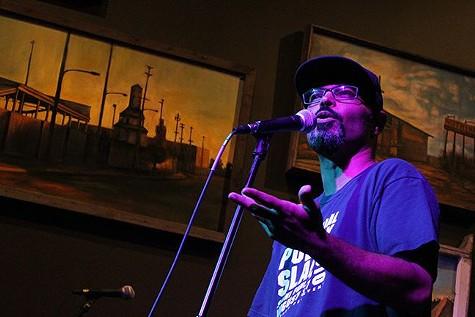 National Poetry Slam performer.