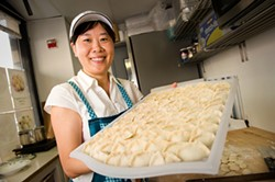 Tian Jin Dumplings for the win. - CHRIS DUFFEY