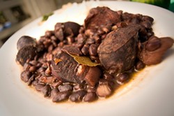 The feijoada at Rio California. - CHRIS DUFFEY