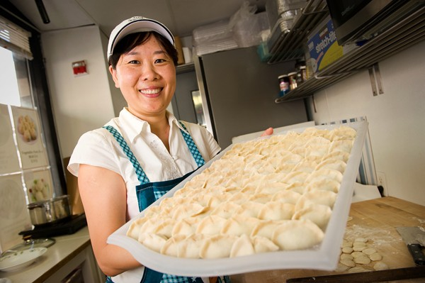 Tian Jin Dumplings for the win. - CHRIS DUFFEY