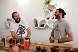 KRIS STEWART - Nico Rivard (left) and Rami Kayali are the first to bring kava to the Bay Area.