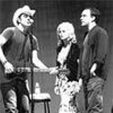 No food, no peace: Daniel Lanois, Emmylou Harris and Dave Matthews perform in Seattle at the October 14 Groundwork concert.