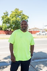 BERT JOHNSON - Oakland resident Anthony Forrest said Pathways to Resilience and Planting Justice taught him the skills he needed to start his own business.