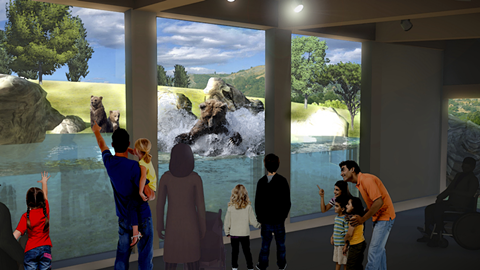 California Trail rendering. - COURTESY OF OAKLAND ZOO