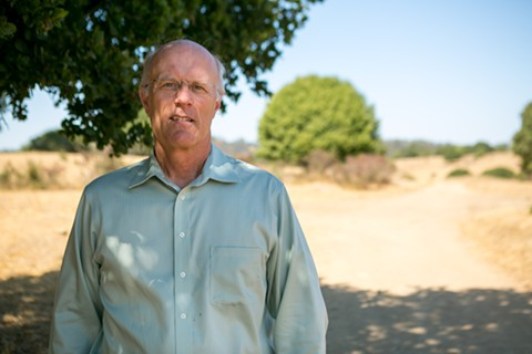 Joel Parrott, president and CEO of the East Bay Zoological Society, in Knowland Park. - BERT JOHNSON / FILE PHOTO